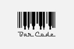 Bar Code Logo by imjustcreative, on Flickr
