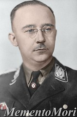 Heinrich Himmler (Arrabiata!) Tags: photomanipulation glasses 1930s uniform thirdreich ss 1940s colorized nazigermany nsdap heinrichhimmler