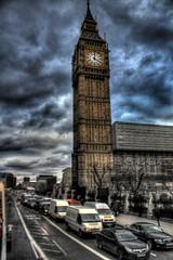 Big Bin, London (firas_alshareef) Tags: london clock big downtown bin hdr
