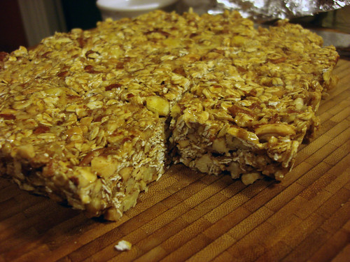 New homemade energy bars