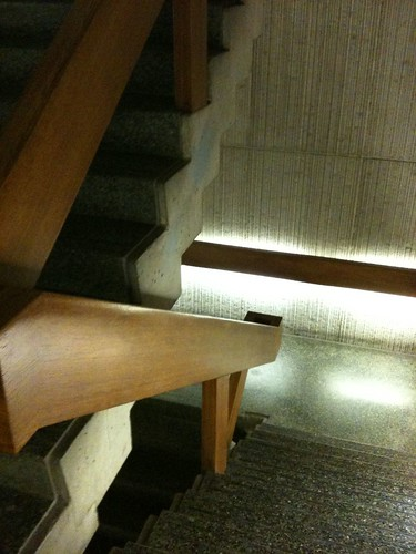 stairs at the Reg