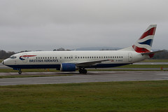 G-DOCZ - 25858 - British Airways - Boeing 737-436 - Manchester - 081126 - Steven Gray - IMG_3257