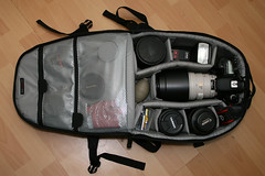 The bag - Canon EOS 7D (Salteh.Duck) Tags: camera macro canon bag lens eos is flash gear tokina1224 equipment 124 7d hood 100 usm dslr speedlight strobe sandisk 1224 omnibounce lowepro tamron2875 speedlite 2875 100400 canonef100mmf28 minitrekker 400d cambag canonef100400mmf4556l bge7