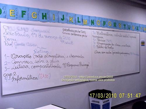 Rotina Prevista - 17/03/2010