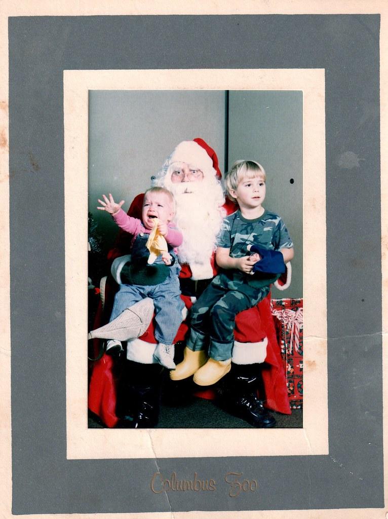 Poor Santa.