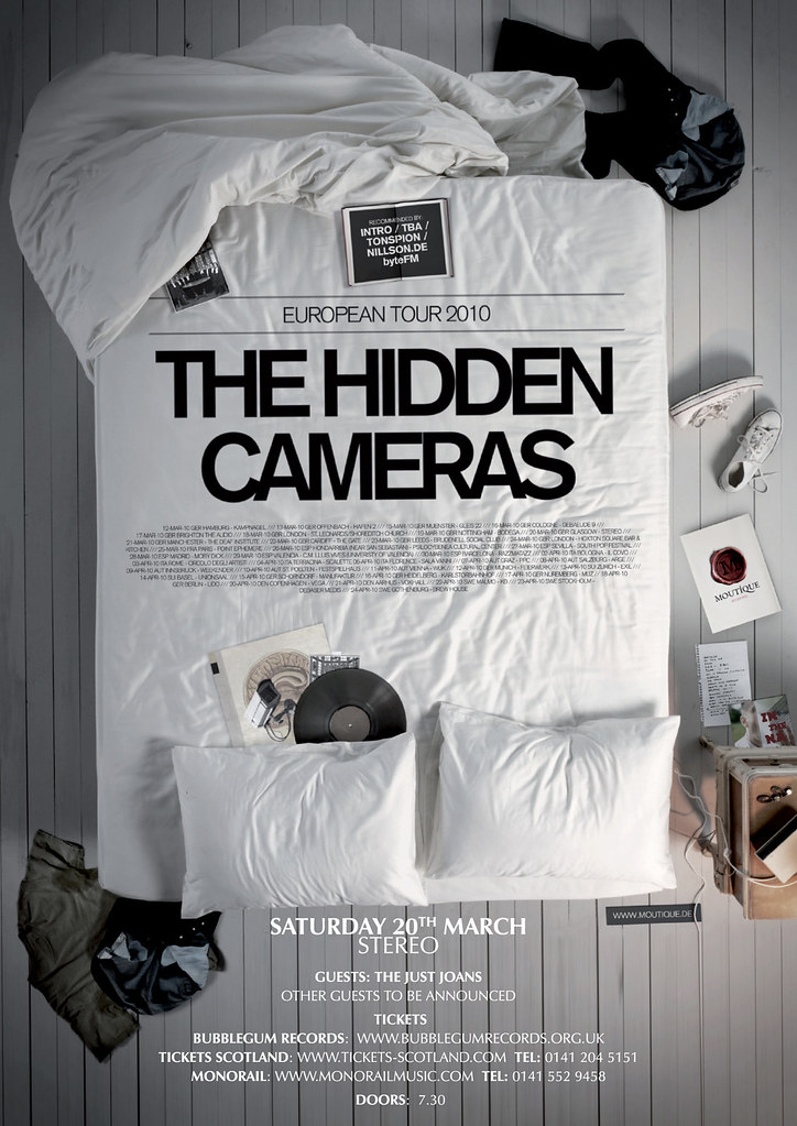 The Hidden Cameras A3 low res