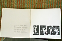 The White Album - Gatefold (thejcgerm) Tags: music records album vinyl albums lp record albumcover beatles 1968 johnlennon ringostarr thebeatles albumcovers paulmccartney georgeharrison 33rpm lps recordcollection 3313 vinylrecord whitealbum vinylrecords gatefold 33s thewhitealbum