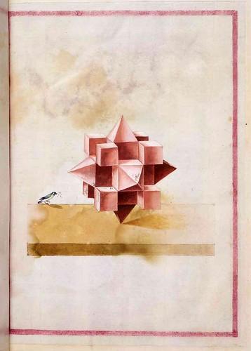 034-Geometrische und perspektivische Zeichnungen-Siglo XVI