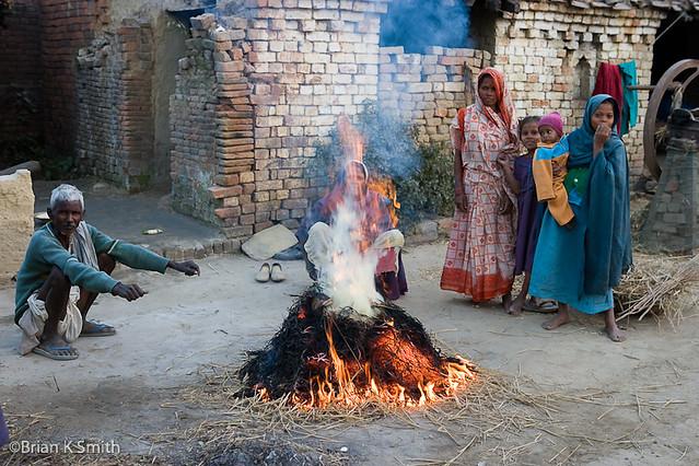 Dusk Fire, Uttar Pradesh