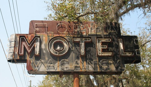 Florida Motel Sign Monticello