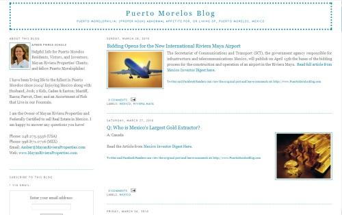 Puerto Morelos Blog