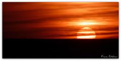 Puesta de sol en Los Lances (Franci Esteban) Tags: espaa landscape atardecer andaluca playa panasonic puestadesol cdiz tarifa loslances fz28 dmcfz28