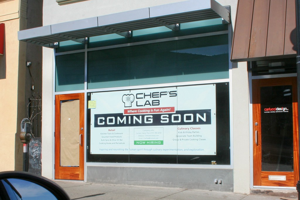 Drive By Discovery : Chef's Lab Coming To Montclair NJ In June