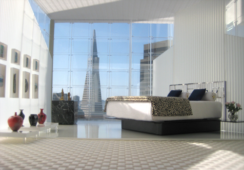 San Francisco Penthouse Bedroom