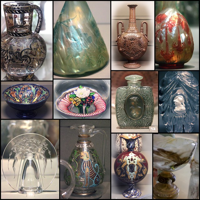 Glass wares 19c