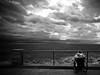 Una gita al mare (Funky64 (www.lucarossato.com)) Tags: sea bw sun marina climb donna nuvole mare waves liguria wheelchair bn rays lungomare bianco nero raggi onde deiva anziana carozzina blackwhitephotos disabile funky64 lucarossatocom unagitaalmare