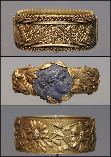 Bracelets electroplating by Bapst and Falize, c.1890