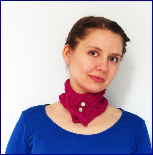 english mesh lace scarflette