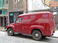 Commer Van. (maggie jones.) Tags: london van friday eastend commer 504umh