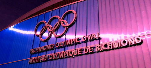Richmond Oval Anneau Olympique de Richmond