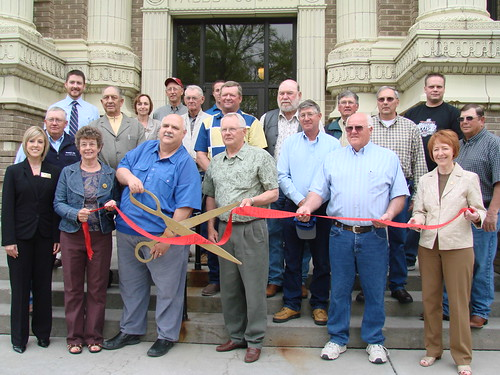 Valley County Courthouse Ribbon Cutting
