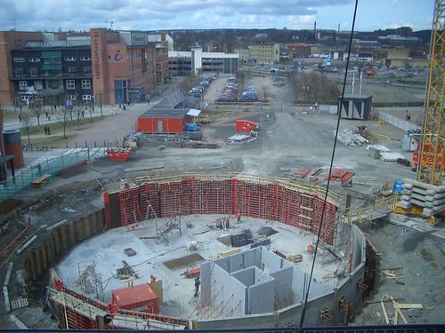 Bygget vid jobbet