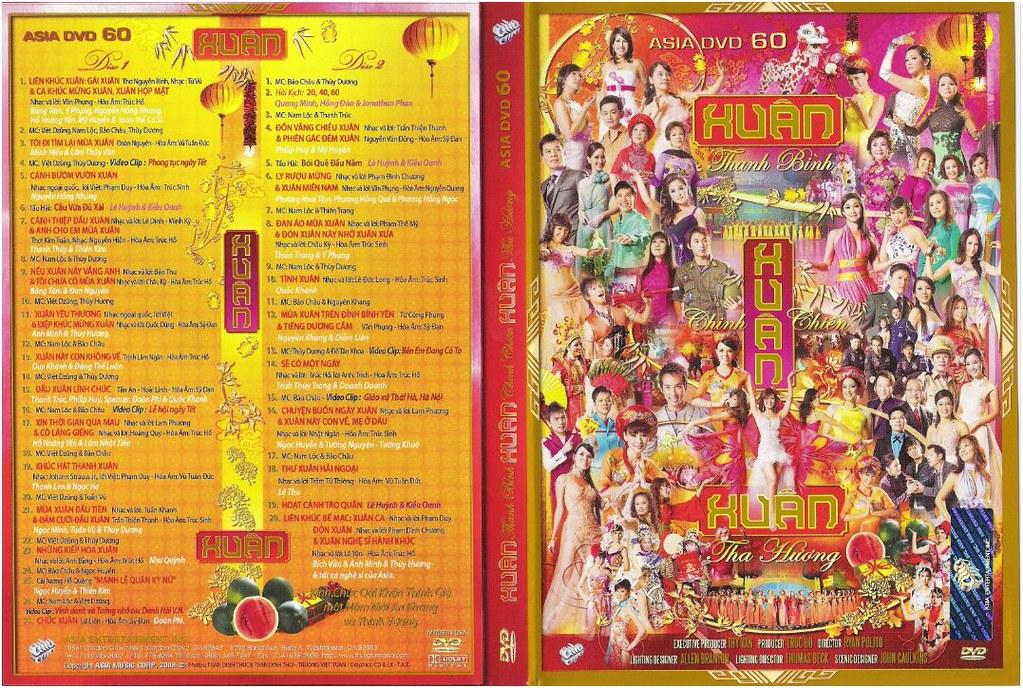 ASIA 60  Xuân Thanh Bình - Xuân Chinh Chiến - Xuân Tha Hương DVD9