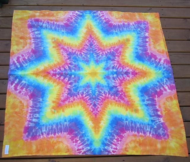 8pt orange blanket