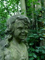 Broken-nosed cherub