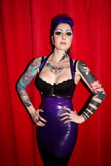 Michelle Payne (siberfi) Tags: birthday london tattoo ink ball garden theatre f1 rubber tattoos torture latex 20 ck coronet 20th inked londonist 2011 torturegarden