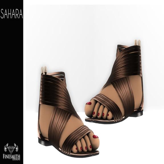 Sahara Sandals Natural