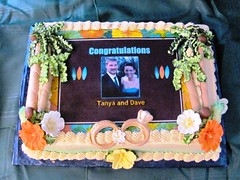 Tanya and Dave Bridal Shower Luau themed (el cad) Tags: cakes cake shower image el baltimore luau bridal edible cad