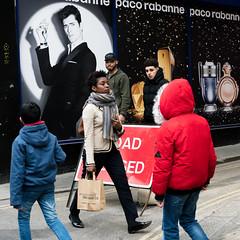 pacco rabanne - London (stevedexteruk) Tags: square 1x1 squareformat oxfordstreet hanwaystreet london uk pacco rabanne perfume mens scent aftershave 2017 street