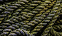 Cast of Thousands (Steve Walser) Tags: rope line sailing boating fishing navy