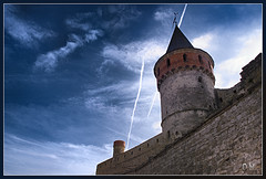 The Old Fortress (OleksiyM) Tags: trip travel light vacation cloud building castle history architecture clouds landscape town construction arquitectura nikon europe day ukraine medieval fortaleza fortification castello castillo burg ua forteresse worldheritage d300 zamek historicalsites       xvii   oldfortress   oekrane xviicentury   platinumheartaward   ukrainie   terraheroica historicalshow