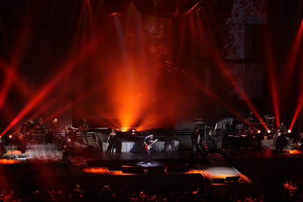 Eros Ramazzotti in concerto al 105 Stadium di Rimini
