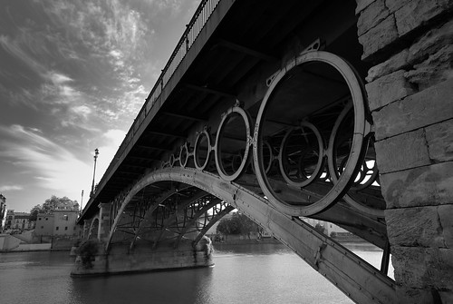 Puente Reina Isabel II o de Triana - Sevilla