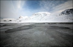 The Same Mountain (Kiddi Einars) Tags: mountain mountains cold water greenland grnland icecold fjll fjall grnland