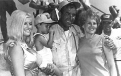 Linda Vaughn with Dick Hutcherson and family (torinodave72) Tags: girl june golden nikki phillips f1 linda nascar firebird marsha miss vaughn pure bennett cochran shifter hurst nhra usac ahra