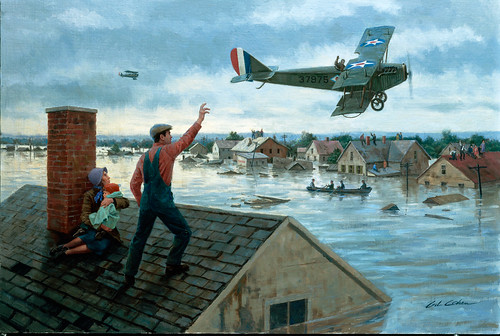 The Great Flood of 1927 by Gil