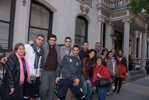 Delegación española en NYC