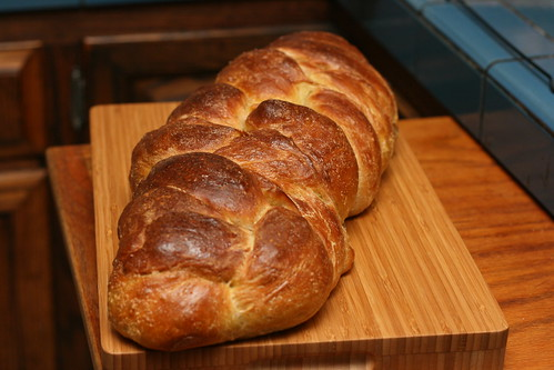 Sourdough Pumpkin Cranberry Challah