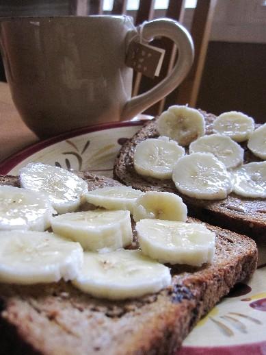Banana and Almond Butter Delish