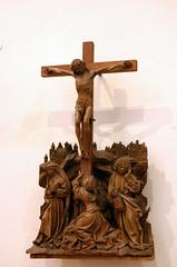Kalkar, Nicolaikirche, crucifixion (groenling) Tags: wood saint statue john oak cross maria mary jesus carving kreuz crucifix nrw johannes bookbag bild holz rheinland magdalena crucifixion woodcarving eik nicolaikirche magdalene kalkar kreuzigung kalvarienberg holthuys beutelbuch