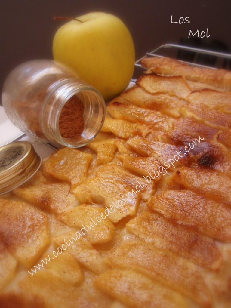 hojaldre de manzana y canela mol