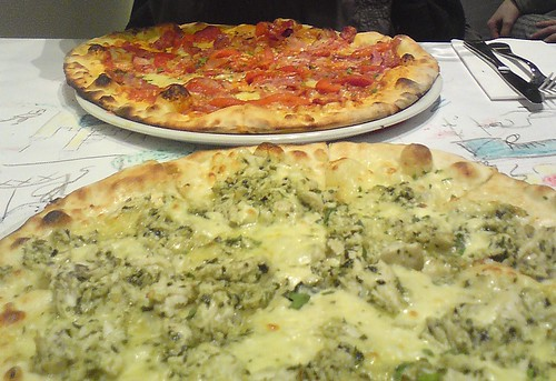 Pizza at Ciuccio