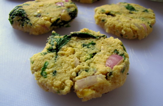 Keerai Vadai   Keera Vada Recipe   Lentils and Spinach Vadai Recipe