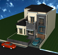 Rumah-Minimalis-Split-Level di Citra Grand by Indograha Arsitama Desain & Build