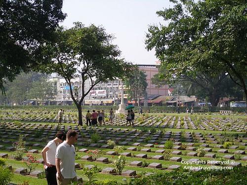 War Cemetary In River Kwai