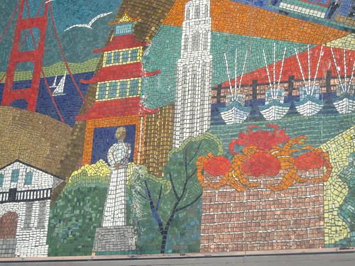 Mosaic mural monday